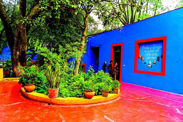Το σπίτι της Frida Kahlo στο Μεξικό