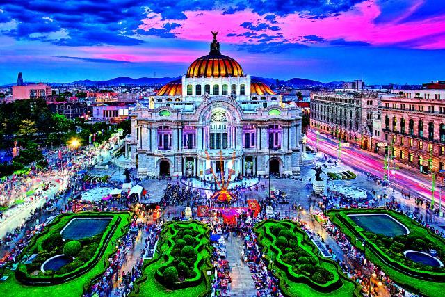 Θέατρο Καλών Τεχνών, Μεξικό