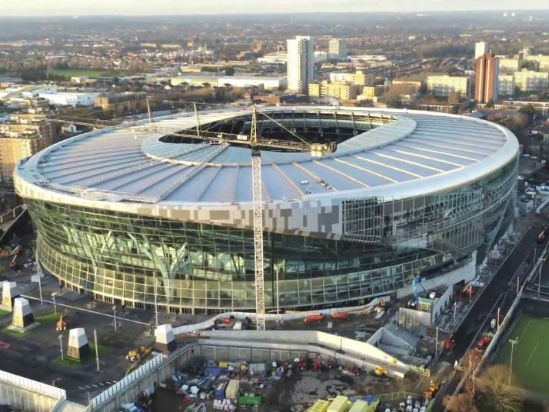 Λονδίνο: Στολίδι για την πόλη το νέο στάδιο της Τότεναμ (video)