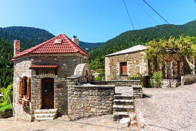 Βουτύρο - χωριά Ευρυτανίας