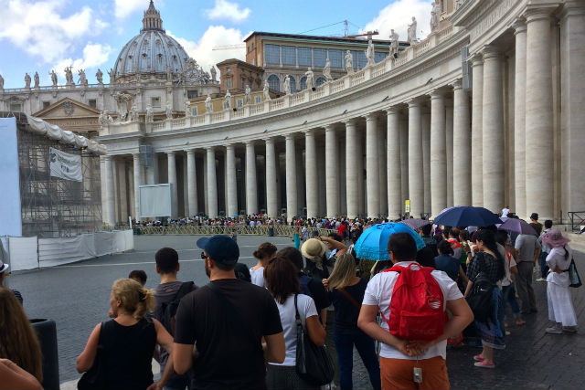 Ουρά αναμονής Βατικανό