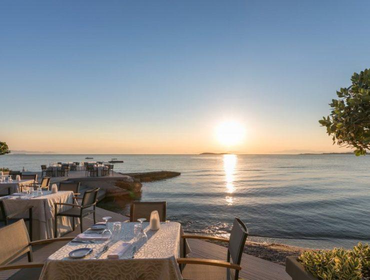 Divani Hotel restaurant Mythos