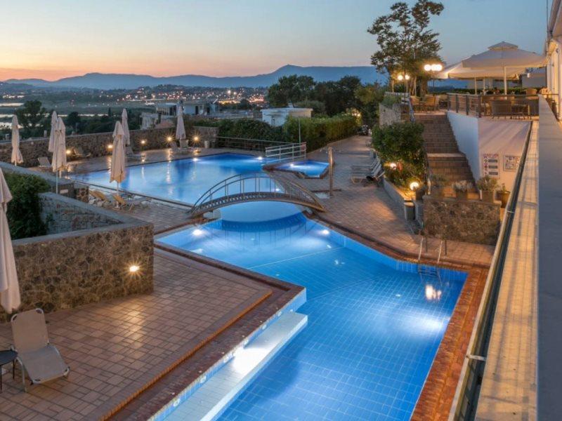 Divani Corfu Palace swimming pool
