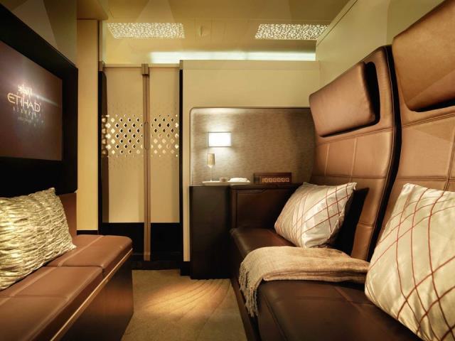Etihad Airways πρώτη θέση