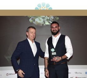 Kenshō Psarou goes Triple Gold at the Greek Hospitality Awards 2019