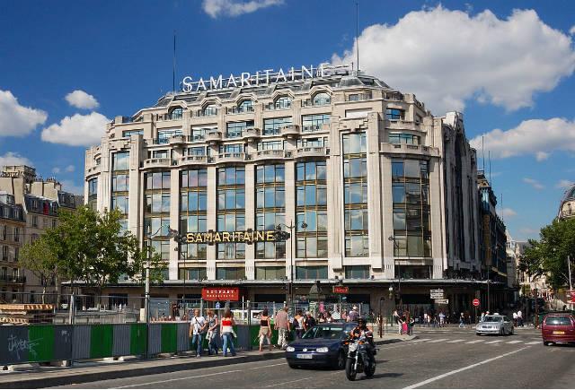 Παλιά όψη του La Samaritaine