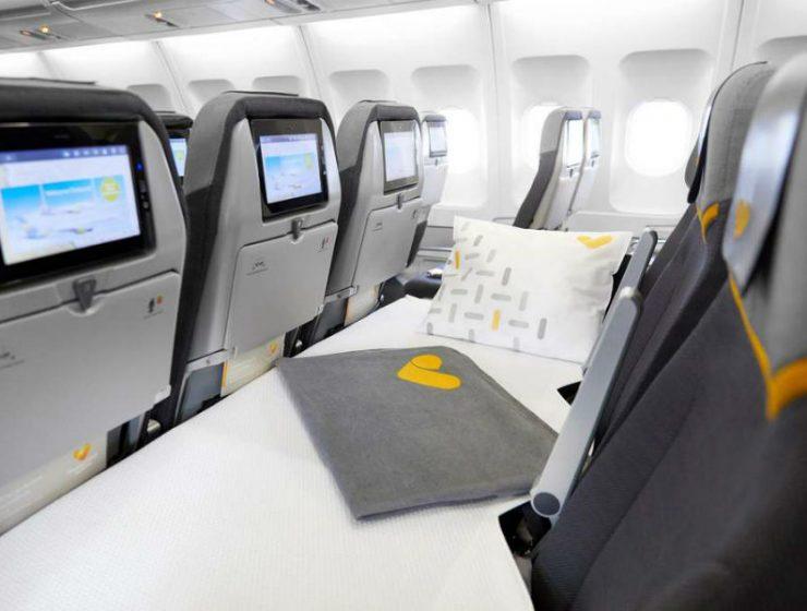 Αεροπορική εταιρεία φέρνει θέσεις που γίνονται κρεβάτια στην οικονομική κατηγορία!