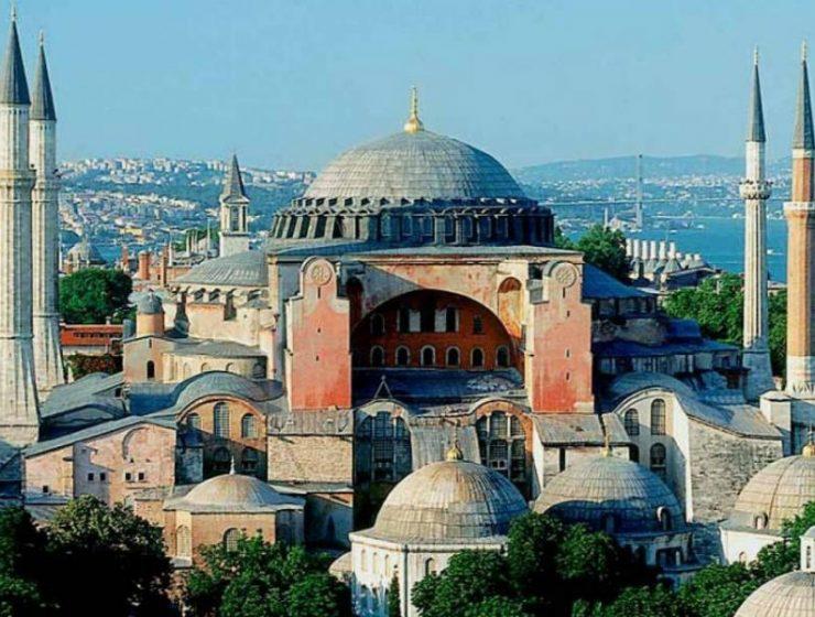 Αγία Σοφία Κωνσταντινούπολη