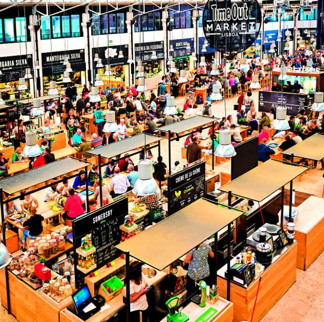 Αγορά στη Λισαβόνα