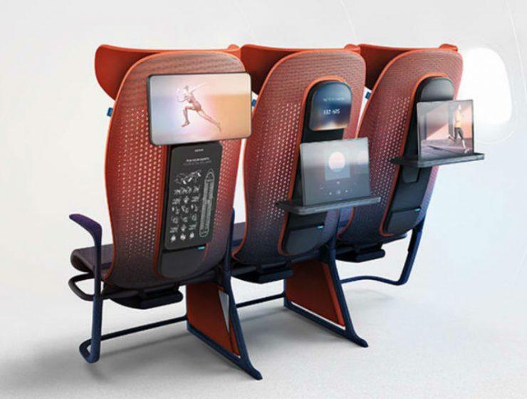 Τι θα λέγατε για νέα πρωτοποριακά αεροπορικά καθίσματα;