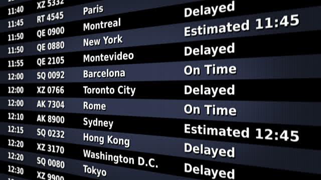 πίνακας - αεροδρόμιο
