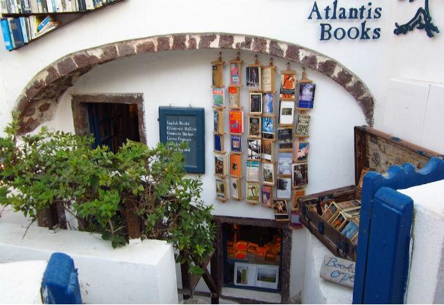 βιβλιοπωλείο Σαντορίνη
