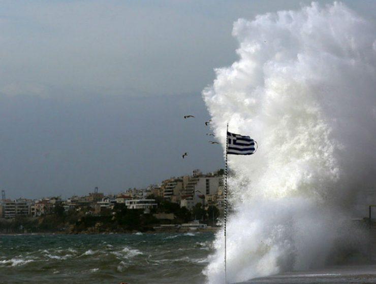 Ελλάδα καιρός - άνεμοι