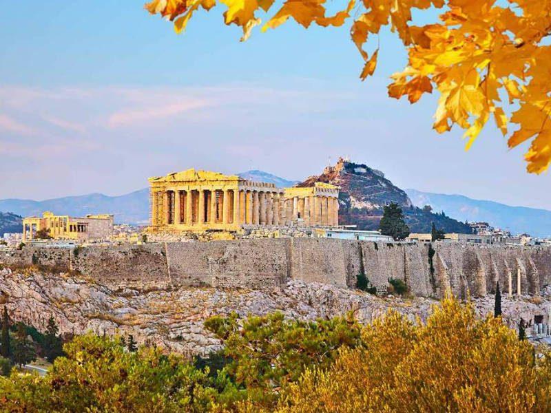 Καιρός: Αθήνα - Παρθενώνας, Ακρόπολη