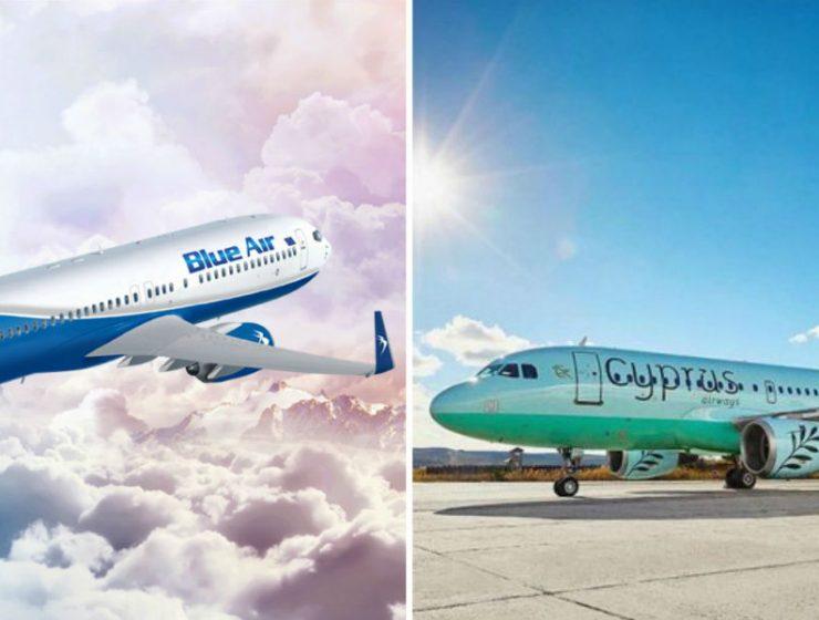 Blue Air και Cyprus Airways επεκτείνουν την συνεργασία τους και στην Ελλάδα