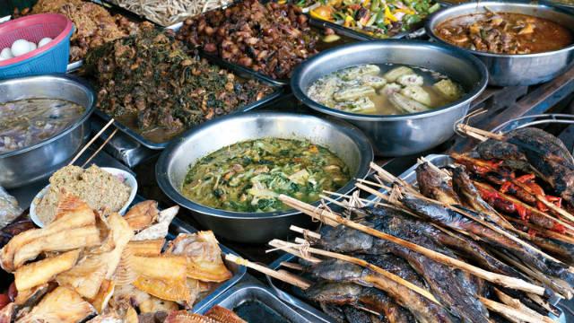 Τοπικές ξεχωριστές γεύσεις στη Καμπότζη