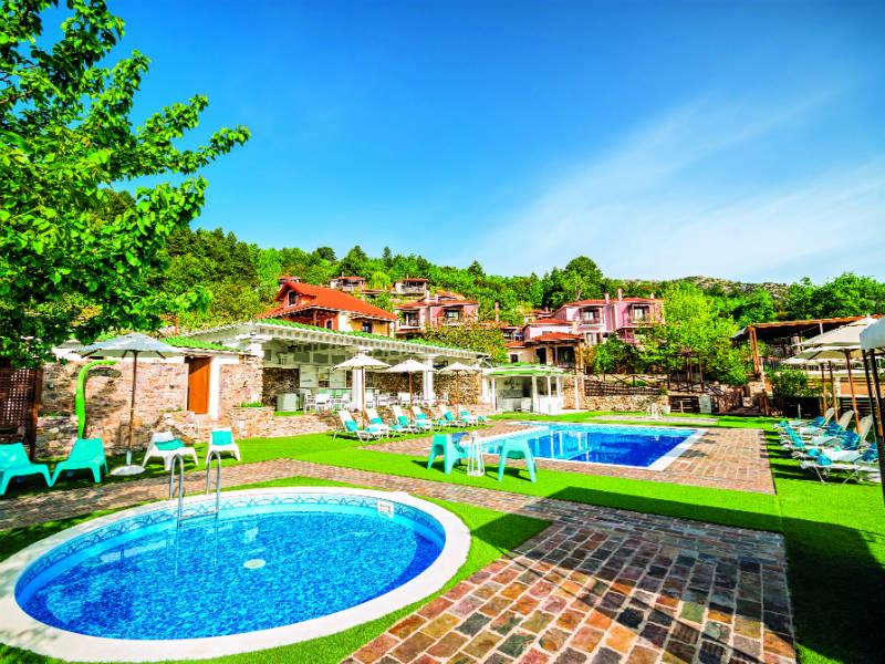 ξενοδοχεία Σπάρτη (Ilaeira Mountain Resort)