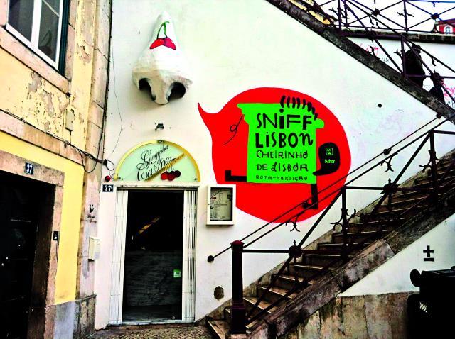 Λικέρ Ginjinha, Λισαβόνα