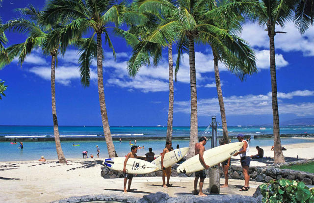Χαβάη - διακοπές