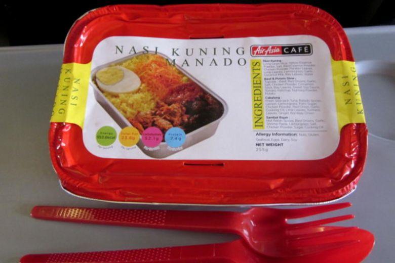 fast food air asia