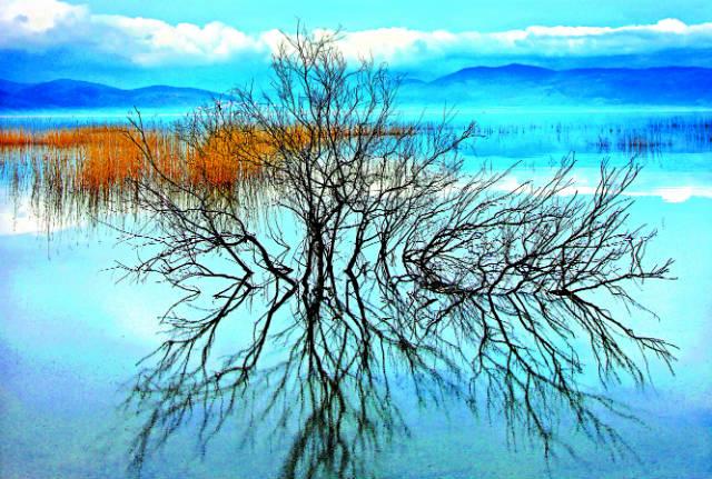 Λίμνη Δοϊράνη, σύνορα Ελλάδα Σκόπια