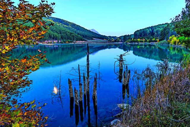Λίμνη Δόξα, Ορεινή Κορινθία