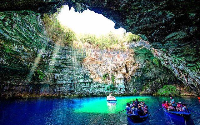 λιμνοσπήλαιο Μελισσάνης, Κεφαλονιά