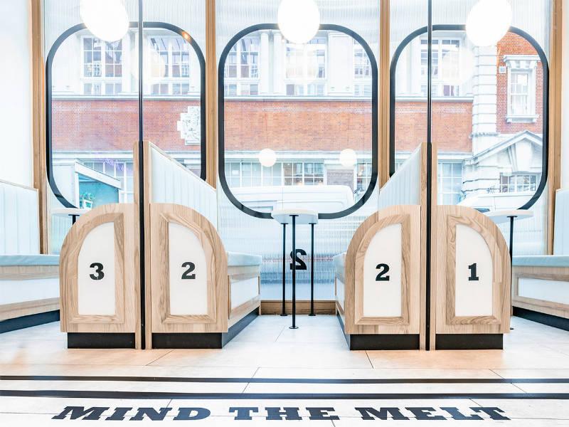 Λονδίνο: Επιβιβαστείτε σε ένα τρένο γεμάτο παγωτό!