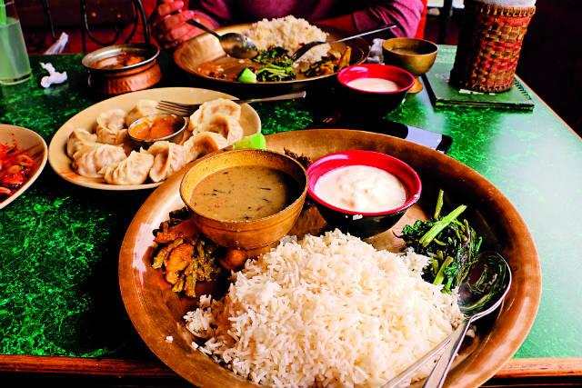 Το φαγητό στο Νεπάλ