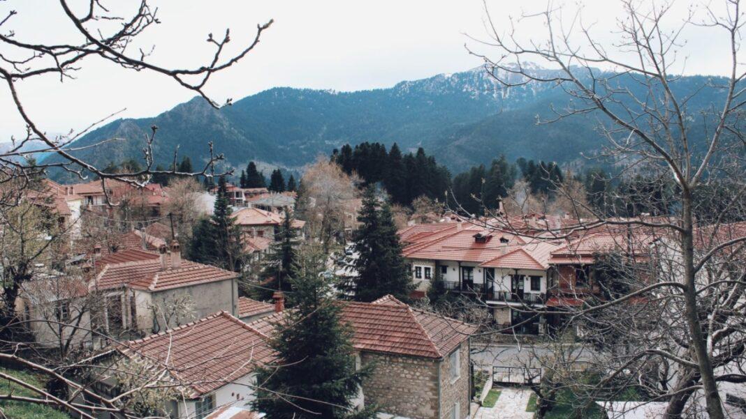 ορεινά χωριά Τρίκαλα