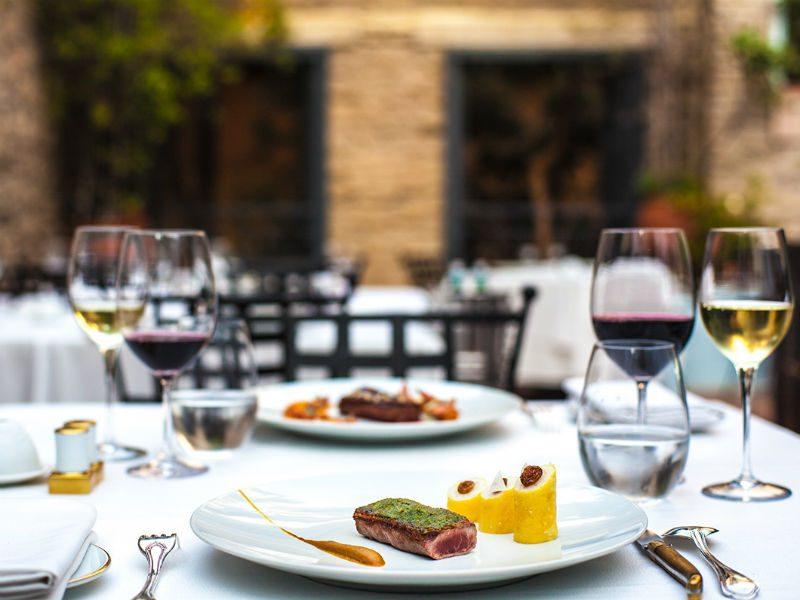 Εστιατόριο Σπονδή - αστέρια Michelin