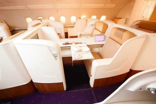 Thai airways πρώτη θέση