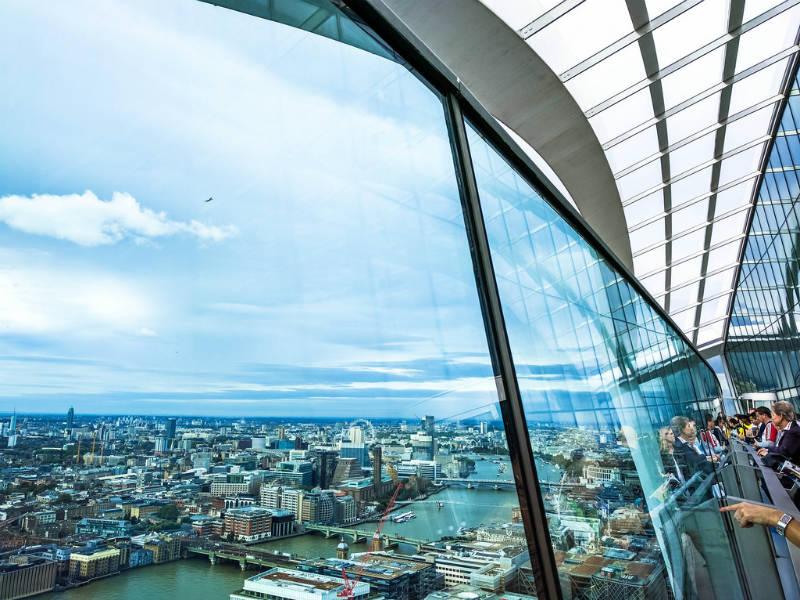 Λονδίνο: The Shard ή Sky Garden; Ποιο έχει τελικά την καλύτερη θέα;