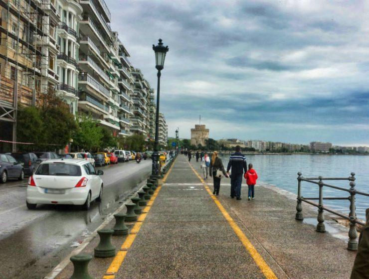 Βροχές στη Θεσσαλονίκη