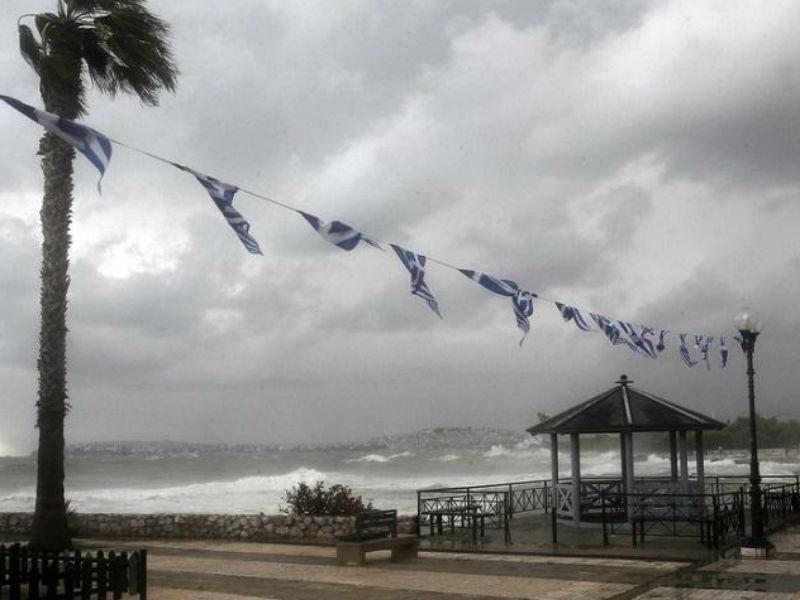 Ο καιρός το τριήμερο της 25ης Μαρτίου επιφυλάσσει βροχές!