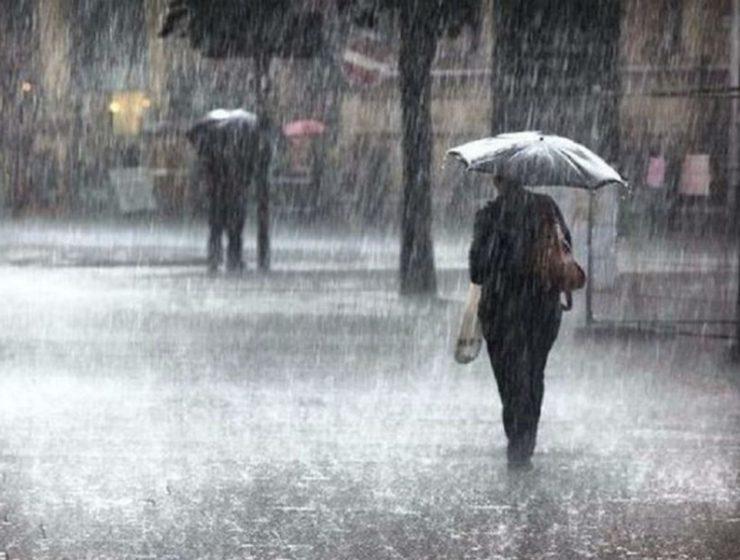 Καιρός: Κακοκαιρία βροχές καταιγίδες