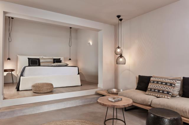 Minos Beach art hotel, δωμάτιο