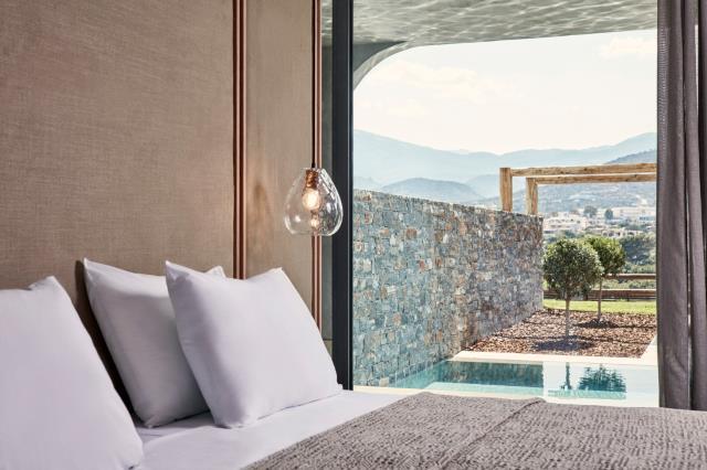 Minos Palace hotel & suites, δωμάτιο