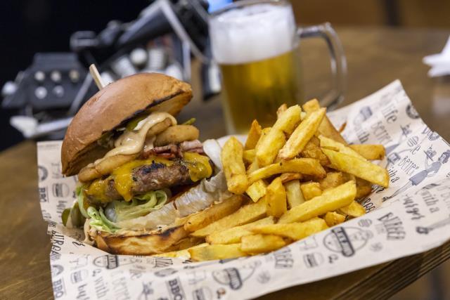 Black John burger