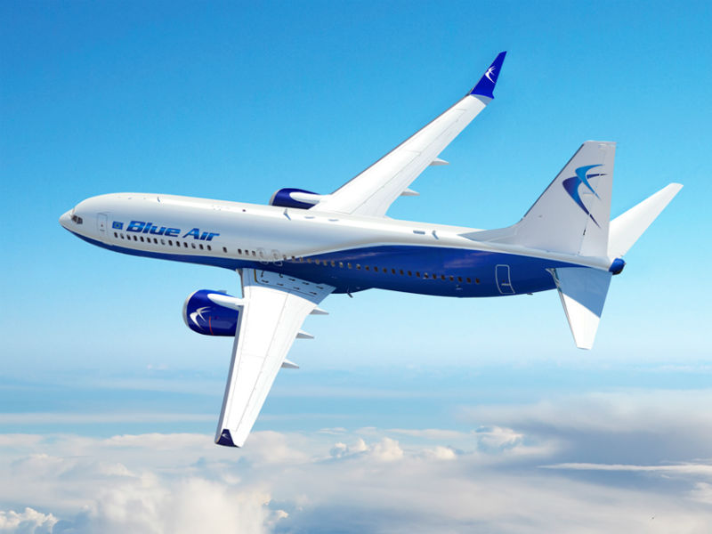 Blue Air: Πασχαλινή προσφορά με έκπτωση 20% σε προορισμούς της Ευρώπης!
