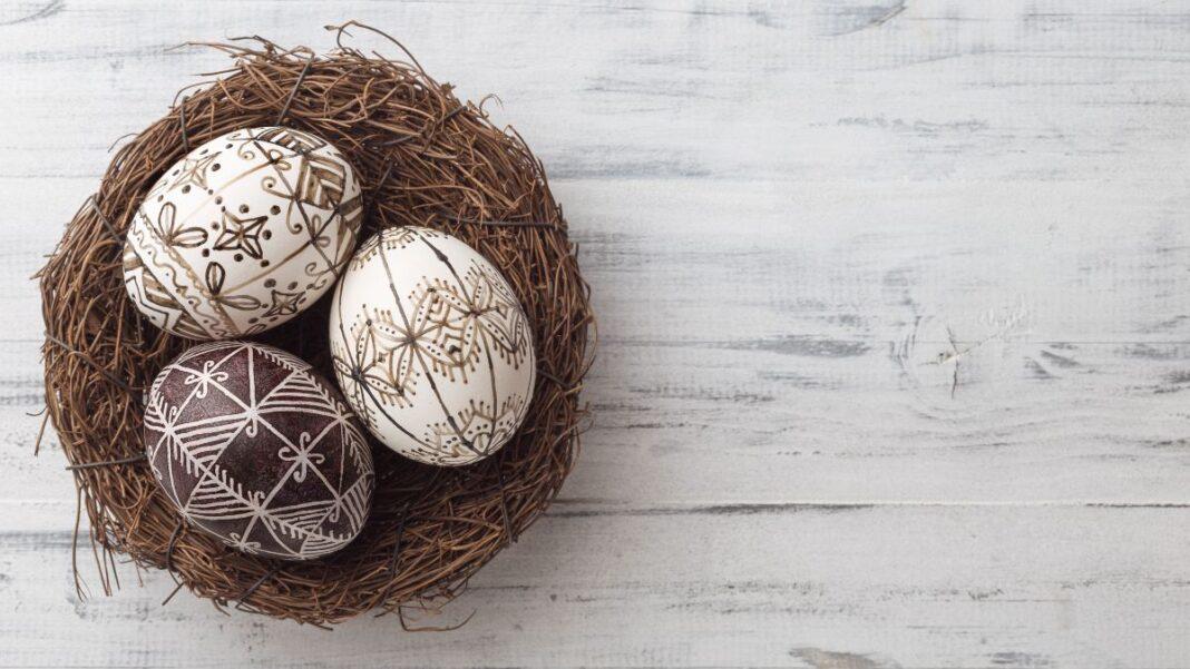 Πασχαλινά αυγά διακοσμημένα