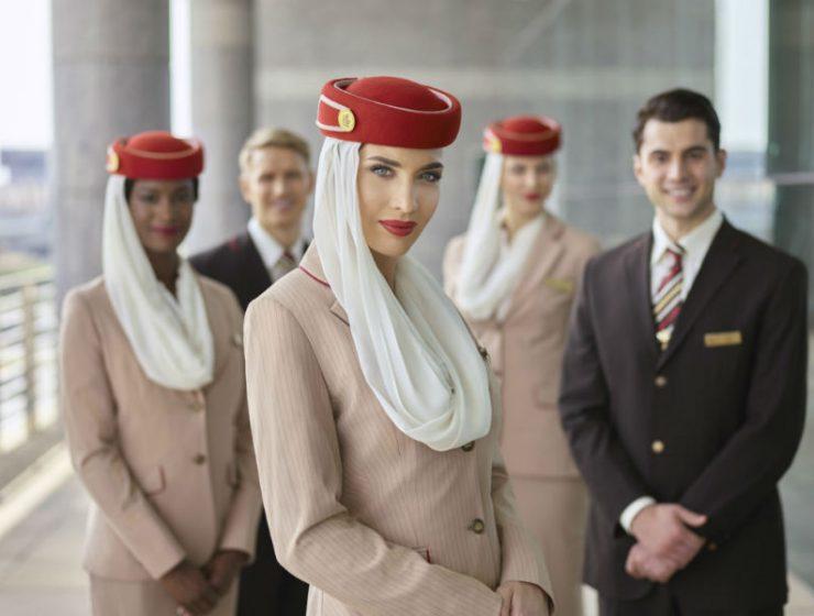 Emirates πλήρωμα θαλάμου