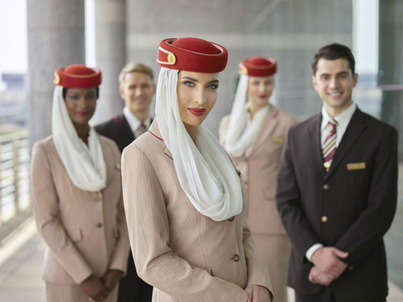 Emirates πλήρωμα