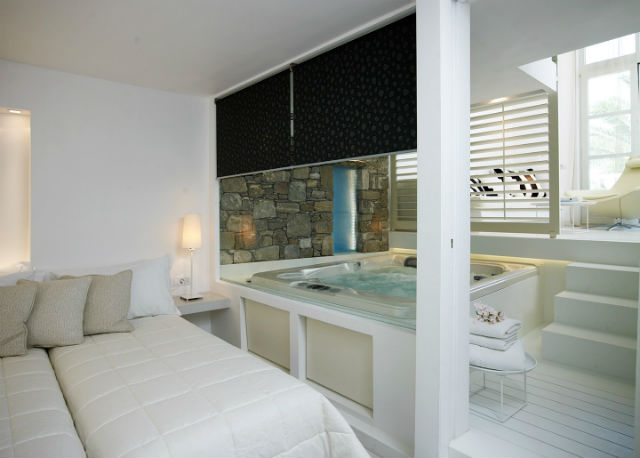 Executive pool view suite, Semeli Hotel, Μύκονος
