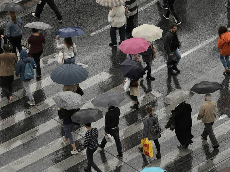 νέο κύμα κακοκαιρίας - βροχές, καταιγίδες