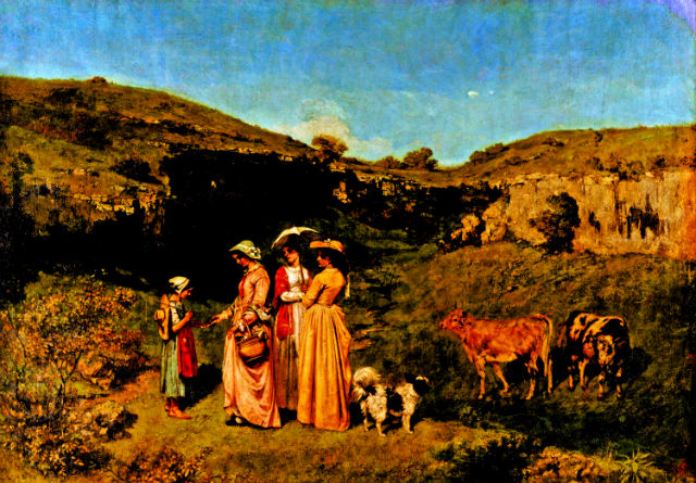 Κουρμπέ - 200 χρόνια από τη γέννησή του, Γαλλία