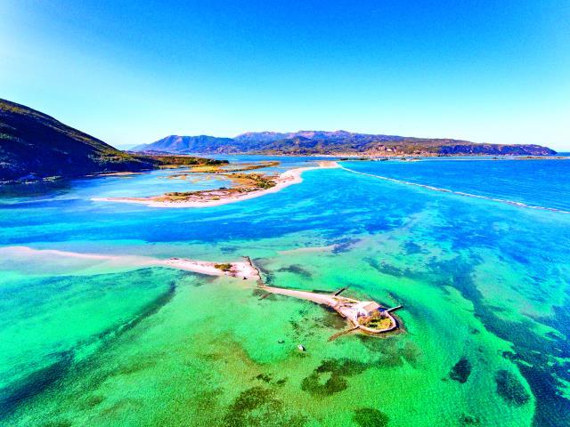 Το «νησί του Σικελιανού», Λευκάδα