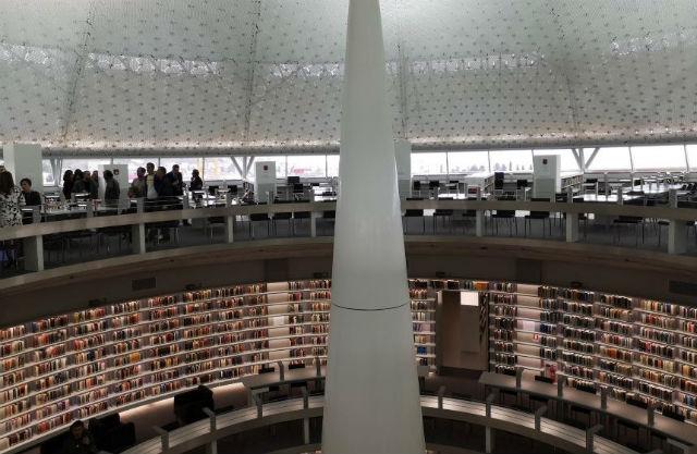 Η νέα βιβλιοθήκη στο Πανεπιστήμιο Κύπρου