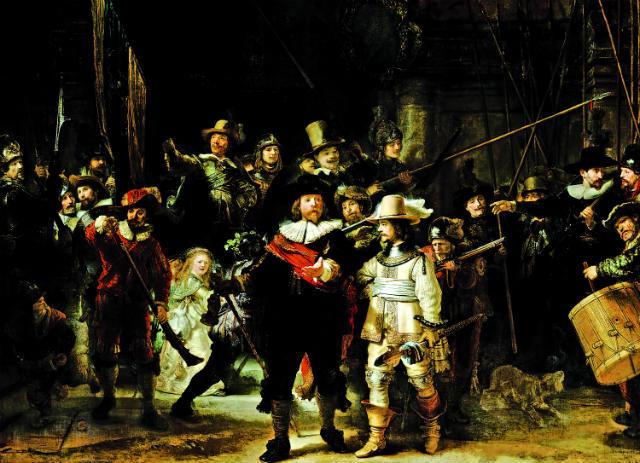 350 χρόνια Ρέμπραντ, Ολλανδία