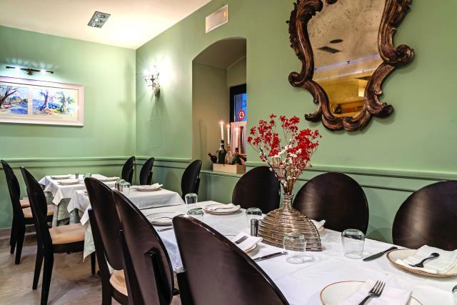 Εστιατόριο Rex, Κέρκυρα - εσωτερικό